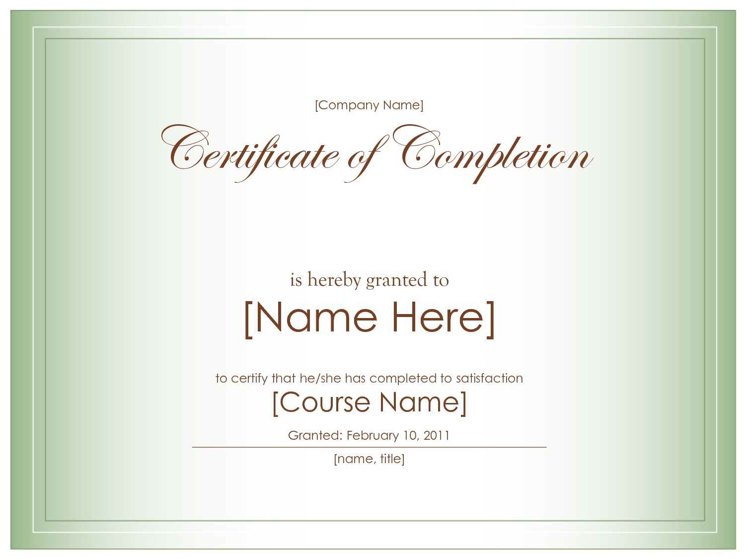 blank certificate templates to print activity shelter